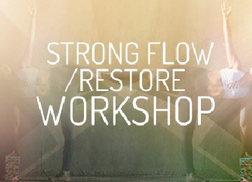 urban om - strong flow workshop